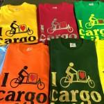 Fler-farve tryk med cykler